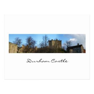 ダラムの城のパノラマ ポストカード