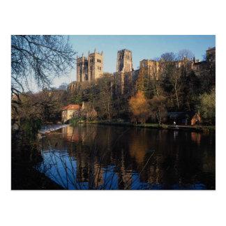 ダラムの城、郡ダラム、イギリス、イギリス ポストカード