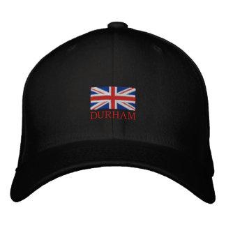 ダラムの帽子-イギリス旗の帽子 刺繍入りキャップ