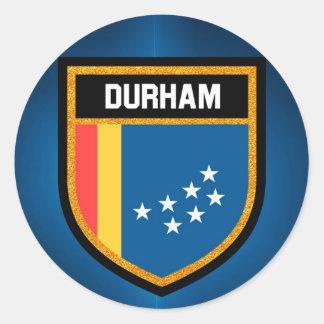 ダラムの旗 ラウンドシール