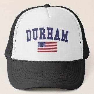 ダラム米国の旗 キャップ