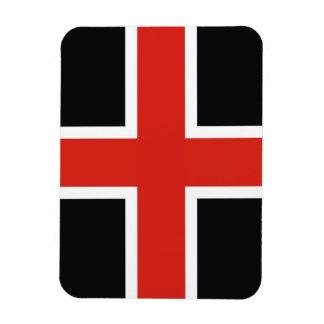 ダラム都市旗のイギリス町イギリス マグネット