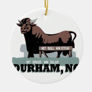 ダラムNC Bull セラミックオーナメント