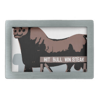 ダラムNC Bull 長方形ベルトバックル