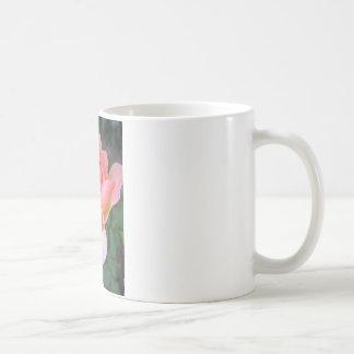 ダリアおよびペチュニア コーヒーマグカップ