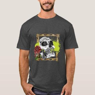 ダリアとのSkully Tシャツ