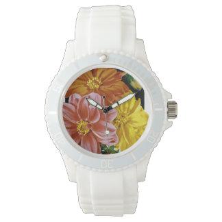 ダリアのヴィンテージの種の包み 腕時計