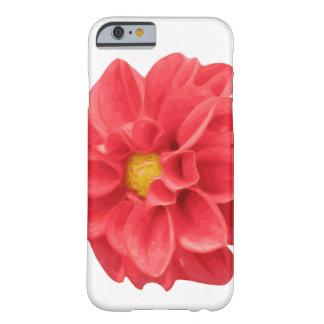 ダリアの花のIphone 6/6sのグラフィックの箱 Barely There iPhone 6 ケース