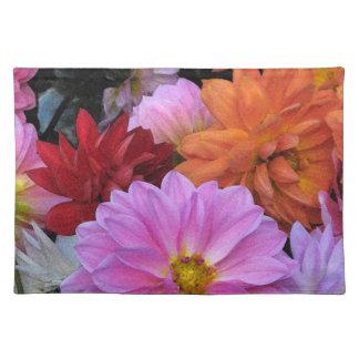 ダリアの花びら ランチョンマット