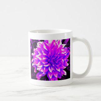 ダリアのpupleか薄紫の調子 コーヒーマグカップ