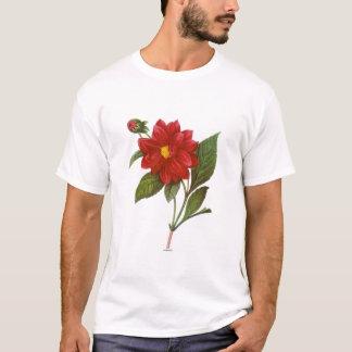 ダリア(ダリアPinnata) Tシャツ