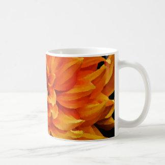 ダリア-新婚旅行-オレンジ コーヒーマグカップ
