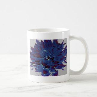 ダリア-新婚旅行-真夜中の青油絵 コーヒーマグカップ