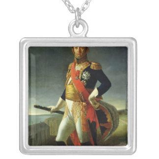 ダルマチア1856年のジーンdeDieu Soult公爵 シルバープレートネックレス