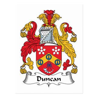 ダンカンの家紋 ポストカード