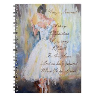 ダンサーが付いている祈りの言葉ジャーナル ノートブック