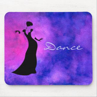 ダンサーのシルエット マウスパッド