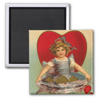 ダンサーのハートのバレンタイン マグネット