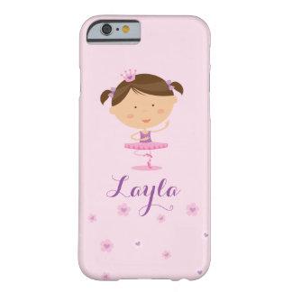 ダンサーのバレリーナの女の子のIphoneのかわいい例 Barely There iPhone 6 ケース