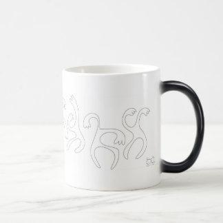 ダンサーのマグ モーフィングマグカップ