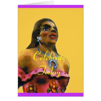 ダンサーの女性のアルバカーキの2002年の芸術のタンのjGibney Si カード