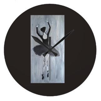 ダンサーの時計 ラージ壁時計