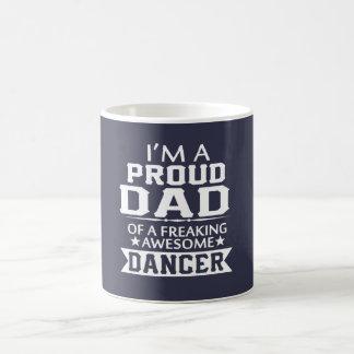 ダンサーの誇り高いパパ コーヒーマグカップ