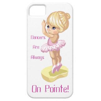 ダンサーはPointeに常にあります! iPhone 5の場合 iPhone SE/5/5s ケース