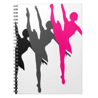 ダンサー ノートブック