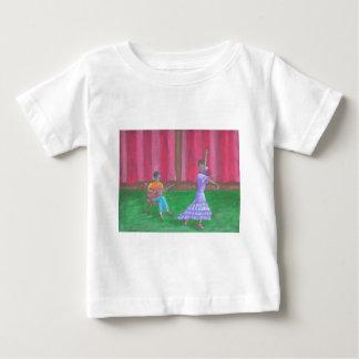 ダンサー ベビーTシャツ