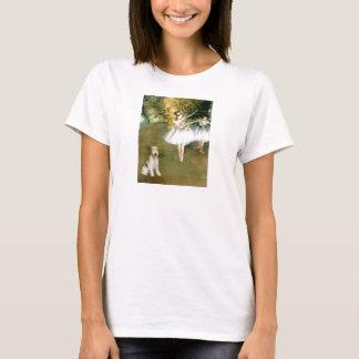 ダンサー-ワイヤーフォックステリア犬#1 Tシャツ