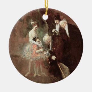 ダンサー、c.1925 (キャンバスの油) セラミックオーナメント