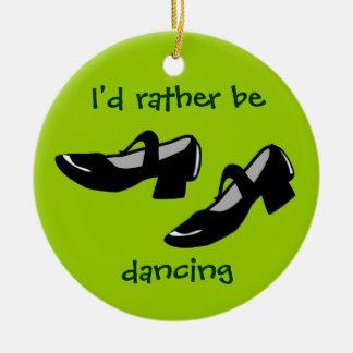ダンスがIDに蹄鉄を打つメリーJanesはむしろ踊っています セラミックオーナメント