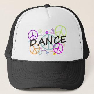 ダンスによって着色されるピースサイン キャップ