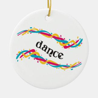 ダンスのねじれ セラミックオーナメント