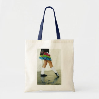 ダンスのアイルランドの青かばん トートバッグ