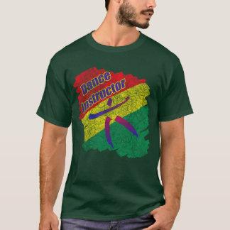 ダンスのインストラクターの衣服のTシャツ Tシャツ
