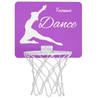 ダンスのカスタムなモノグラム及び色の小型たが ミニバスケットボールゴール