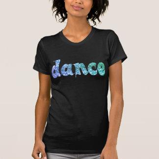 ダンスのグリッター-暗闇 Tシャツ