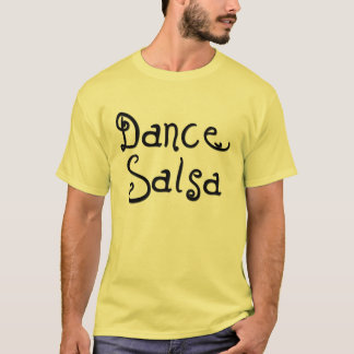 ダンスのサルサ Tシャツ