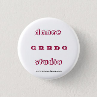 ダンスのスタジオの信条 缶バッジ
