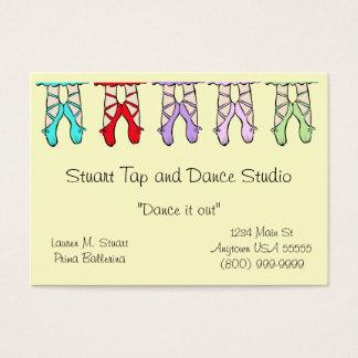 ダンスのスタジオの名刺 名刺