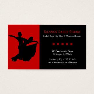 ダンスのスタジオ 名刺
