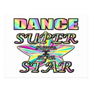 ダンスのスーパースター ポストカード