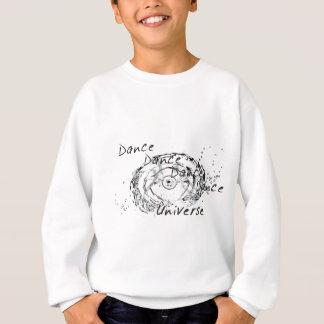 ダンスのダンスの宇宙White.jpg スウェットシャツ