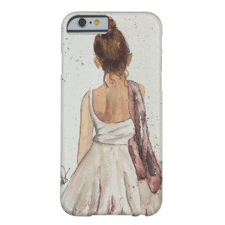 ダンスのバレエの水彩画のiPhone 6/6sの例の後 Barely There iPhone 6 ケース