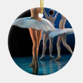 ダンスのバレエ セラミックオーナメント