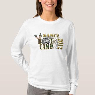 ダンスの基礎訓練キャンプのワイシャツ Tシャツ