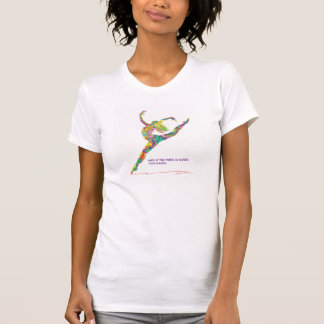 ダンスの引用文のTシャツ Tシャツ