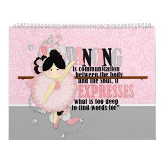 ダンスの引用文 カレンダー